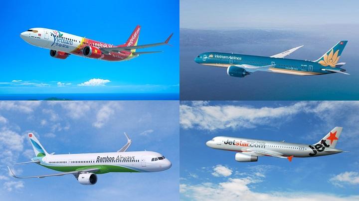 Tổng hợp danh sách các hãng hàng không ở Việt Nam