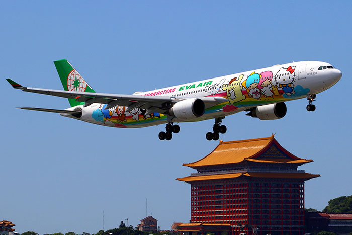 Thông tin về hãng hàng không Eva Air tại việt nam